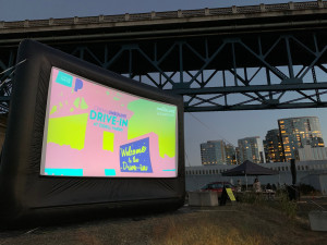 Drive-In Movies at places like Portland's Zidell Yards and Newberg's 99W are making a comeback during the pandemic, as S.W. Conser reports on Words and Pictures