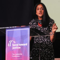 Vanita Gupta, President and CEO of the Leadership Conference on Civil and Human Rights