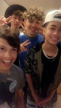 Oliver Moy. Sebastian Moy and Jesse Underhiill, with Ender Black