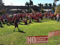 No methanol rally in Kalama