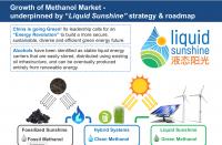 NWIW leaked powerpoint slide - Methanol = Liquid Sunshine